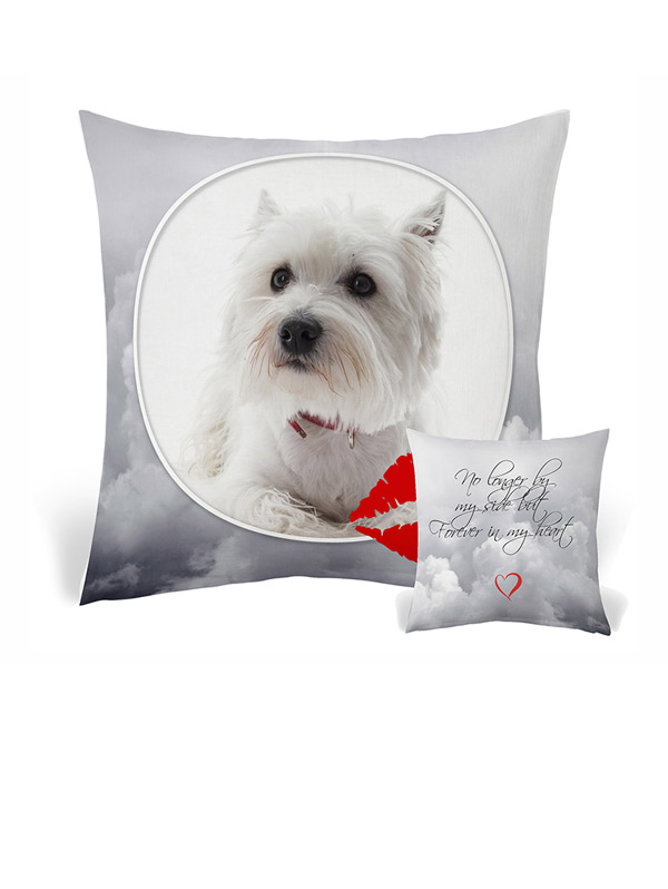Pet photo cushion