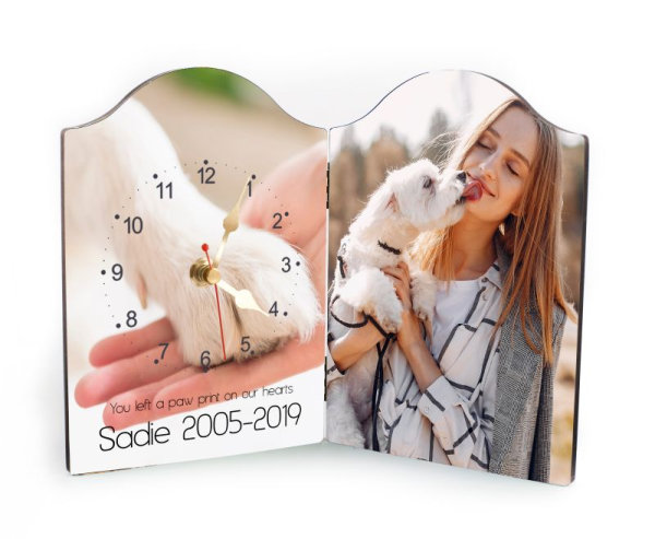 Pet Rectangular Clock-12