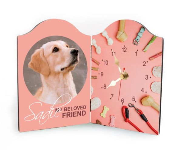 Pet Rectangular Clock-8