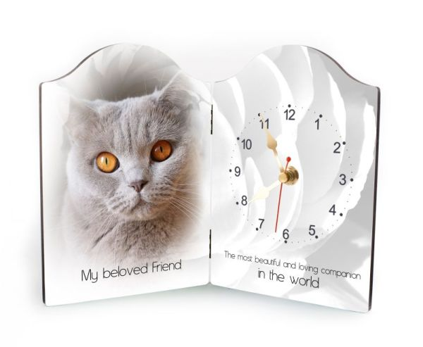 Pet Rectangular Clock-13