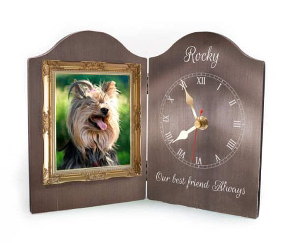 Pet Rectangular Clock-9